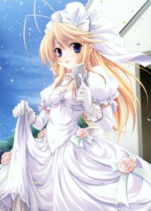 Rating: Safe Score: 59 Tags: dress heathcliff_cosgrave miyama-zero princess_brave wedding_dress User: midzki