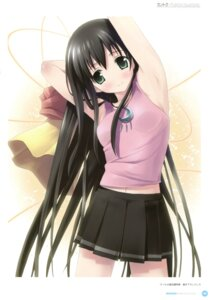 Rating: Questionable Score: 21 Tags: amesarasa chiyokawa_rin kantoku User: Twinsenzw