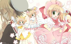 Rating: Safe Score: 13 Tags: card_captor_sakura kinomoto_sakura nekono_osero seifuku thighhighs wallpaper User: blooregardo