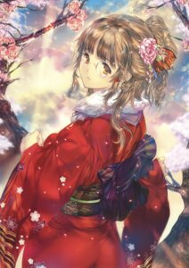 Rating: Questionable Score: 16 Tags: kimono megane min-naraken tagme User: Twinsenzw
