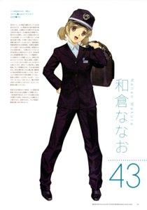 Rating: Safe Score: 3 Tags: mibu_natsuki tetsudou_musume uniform wakura_nanao User: fireattack