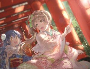 Rating: Safe Score: 40 Tags: kimono love_live! minami_kotori sonoda_umi toyo_(s9654431) User: Mr_GT