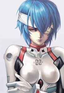 Rating: Safe Score: 38 Tags: ayanami_rei bandages bodysuit dantewontdie erect_nipples neon_genesis_evangelion User: Radioactive
