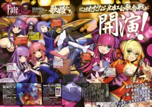 Rating: Questionable Score: 14 Tags: bb_(fate/extra_ccc) caster_(fate/extra) cleavage fate/extra fate/extra_ccc fate/stay_night lancer_(fate/extra_ccc) matou_sakura meltlilith passion_lip saber_extra wada_rco User: drop