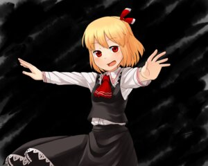 Rating: Safe Score: 4 Tags: muku_(muku-coffee) rumia touhou wallpaper User: Silvance