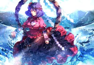 Rating: Safe Score: 21 Tags: sunakumo touhou yasaka_kanako User: Mr_GT