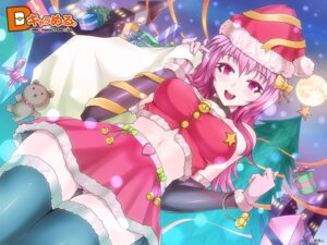 Rating: Questionable Score: 33 Tags: christmas dmm kasai_shin pantsu thighhighs wallpaper User: marshmallow