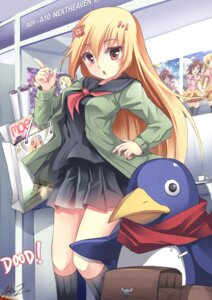 Rating: Safe Score: 43 Tags: disgaea mystic_flame prinny seifuku User: Zenex