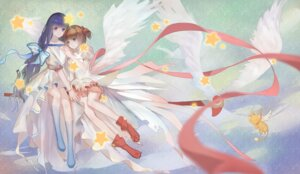 Rating: Safe Score: 25 Tags: card_captor_sakura daidouji_tomoyo dress kamachi_kamachi-ko kero kinomoto_sakura wings User: charunetra