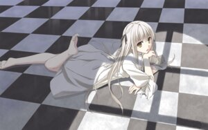 Rating: Safe Score: 40 Tags: dress kasugano_sora mikaze_takashi wallpaper yosuga_no_sora User: fireattack