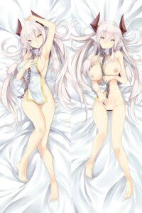 Rating: Explicit Score: 40 Tags: bottomless breast_hold breasts censored dakimakura horns nipples no_bra pussy tagme User: NotRadioactiveHonest