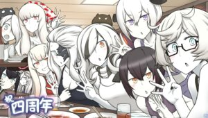 Rating: Safe Score: 21 Tags: abyssal_jellyfish_hime central_hime cleavage hamu_koutarou kantai_collection licorice_hime megane seaplane_tender_water_hime seaport_summer_hime submarine_hime supply_depot_hime User: Mr_GT