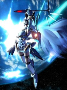 Rating: Safe Score: 24 Tags: cg garter kos-mos mecha_musume thighhighs xenosaga xenosaga_i User: Manabi