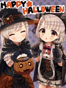 Rating: Safe Score: 8 Tags: animal_ears bloomers halloween hisakawa_hayate hisakawa_nagi the_idolm@ster the_idolm@ster_cinderella_girls witch yata_(yatao_zzz) User: leotard
