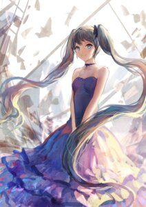 Rating: Safe Score: 49 Tags: dress hatsune_miku jpeg_artifacts sishenfan vocaloid User: Noodoll