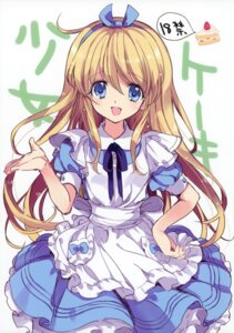 Rating: Safe Score: 27 Tags: alice alice_in_wonderland dress yukiwo User: blooregardo
