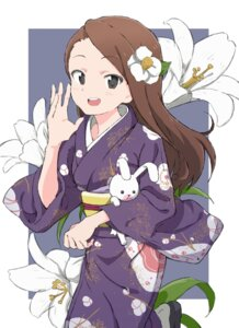 Rating: Safe Score: 37 Tags: minase_iori suika_tabeko the_idolm@ster yukata User: nphuongsun93