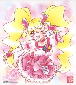 Rating: Safe Score: 4 Tags: dress fresh_pretty_cure! momozono_love pretty_cure skirt_lift tagme User: drop