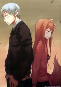 Rating: Safe Score: 22 Tags: animal_ears ayakura_juu craft_lawrence holo spice_and_wolf tail User: 3lizabeth