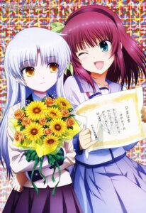 Rating: Safe Score: 62 Tags: angel_beats! seifuku sekiguchi_kanami tenshi yurippe User: Aurelia