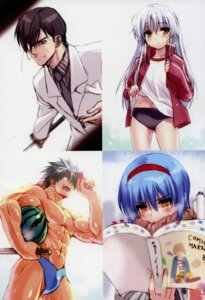 Rating: Safe Score: 3 Tags: buruma business_suit eyepatch gym_uniform shirt_lift tagme wet User: kiyoe