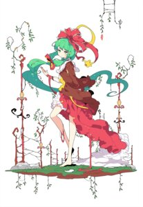 Rating: Safe Score: 9 Tags: ideolo kagiyama_hina touhou User: Dreista