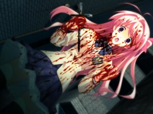 Rating: Questionable Score: 21 Tags: blood chaos;head game_cg matsuo_yukihiro sakihata_rimi seifuku thighhighs User: EternalToXicity16