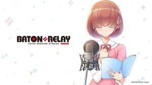 Rating: Safe Score: 7 Tags: baton=relay dress sakura_misato wakaki_tamiki wallpaper User: saemonnokami