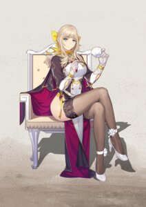 Rating: Questionable Score: 42 Tags: 390378812 chinadress heels see_through stockings thighhighs User: sym455