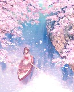 Rating: Safe Score: 32 Tags: kimono landscape nomuraumu User: Mr_GT