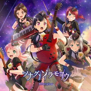 Rating: Safe Score: 14 Tags: aoba_moca bang_dream! disc_cover garter guitar hazawa_tsugumi mitake_ran tagme udagawa_tomoe uehara_himari User: aaayu