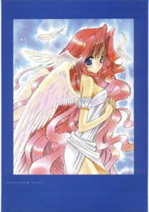 Rating: Safe Score: 5 Tags: angel nanase_aoi seraphim_call User: Radioactive