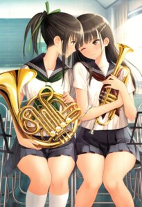 Rating: Safe Score: 62 Tags: color_issue scanning_artifacts seifuku tony_taka yuri User: Radioactive