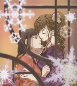 Rating: Safe Score: 23 Tags: kimono maria-sama_ga_miteru nijou_noriko tagme toudou_shimako yuri User: Seal