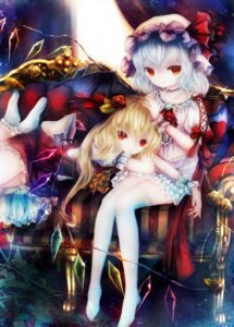 Rating: Safe Score: 39 Tags: basilis9 flandre_scarlet remilia_scarlet thighhighs touhou wings User: Mr_GT