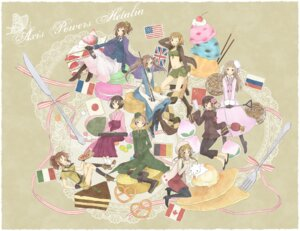 Rating: Safe Score: 8 Tags: america canada china genderswap germany hetalia_axis_powers hi japan megane pantyhose united_kingdom User: Radioactive