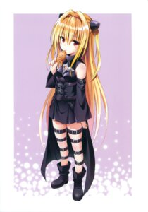 Rating: Safe Score: 81 Tags: dress golden_darkness heels to_love_ru to_love_ru_darkness yabuki_kentarou User: Twinsenzw