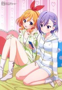 Rating: Safe Score: 32 Tags: mukae_uori murakami_ayaka ongaku_shoujo pajama yamadagi_hanako User: drop