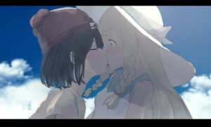 Rating: Safe Score: 52 Tags: kumamoto_nomii-kun lillie_(pokemon) mizuki_(pokemon) pokemon pokemon_sm yuri User: animeprincess