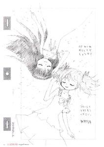Rating: Safe Score: 7 Tags: akemi_homura dress itamura_tomoyuki kaname_madoka monochrome puella_magi_madoka_magica sketch summer_dress User: Hatsukoi