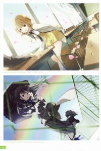 Rating: Safe Score: 35 Tags: hiru_mo_yoru_mo_ryoute_ni_akujo seifuku tiv umbrella User: yong