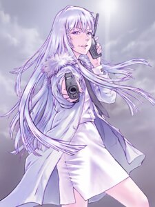 Rating: Questionable Score: 12 Tags: gun jormungand koko_hekmatyar yoshikawa_kazunori User: animeprincess