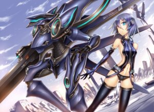 Rating: Safe Score: 28 Tags: gia mecha thighhighs User: SciFi