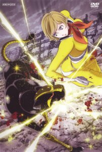 Rating: Safe Score: 11 Tags: 009-1 bodysuit disc_cover gun konno_naoyuki mecha mylene_hoffman User: Radioactive