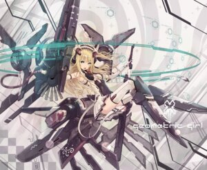 Rating: Safe Score: 51 Tags: daizo mecha_musume thighhighs User: Radioactive