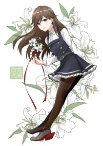 Rating: Safe Score: 43 Tags: arashio_(kancolle) heels kantai_collection morinaga_miki pantyhose seifuku User: mash