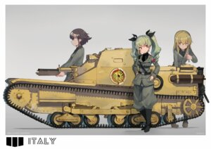 Rating: Safe Score: 30 Tags: anchovy carpaccio girls_und_panzer katsudansou pepperoni uniform User: nphuongsun93