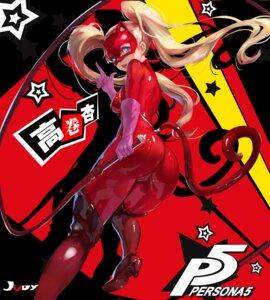 Rating: Questionable Score: 36 Tags: ass bodysuit heels jiujiuyatou_(yayanzz) persona_5 tail takamaki_anne weapon User: Dreista
