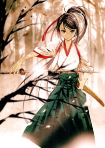 Rating: Safe Score: 56 Tags: japanese_clothes komiya_toshimasa sword User: donicila