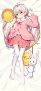 Rating: Questionable Score: 35 Tags: breast_hold dakimakura jpeg_artifacts rokiruyuzi thighhighs User: sym455